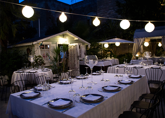 giardino nautilus foto tavolo